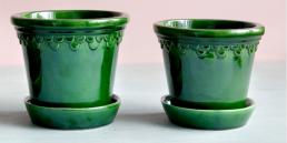 Bergs Potter klar grøn